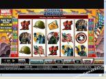 spilleautomat på nett Captain America CryptoLogic